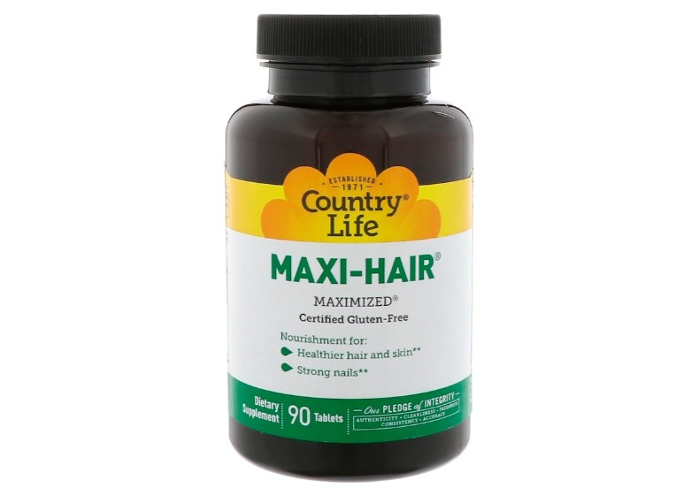 Maxi Hair (90 Tablets) Country Life