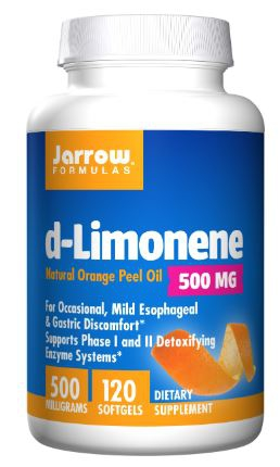 d Limonene 1000 mg (60 softgels) Jarrow Formulas