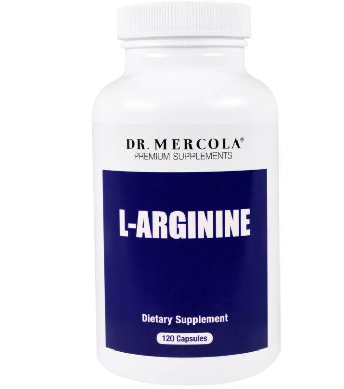 L Arginine, Timed Release (120 Vegetarische Capsules) Dr Mercola Dr. Mercola beste