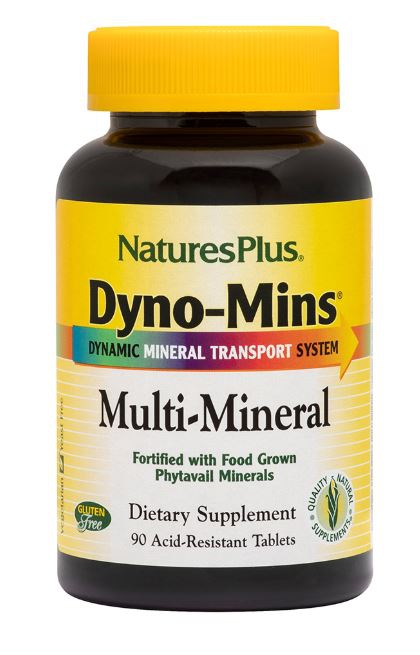 Dyno Mins Multi Mineral (90 Tablets) Nature apos s Plus