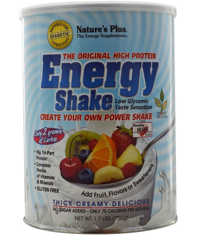 Energy Shake The Original High Protein (756 grams) Nature apos s Plus