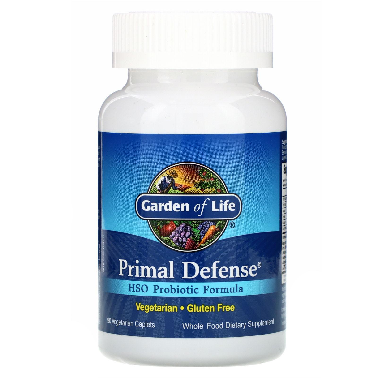 Primal Defense HSO Probiotic Formula (90 caplet) Garden of Life