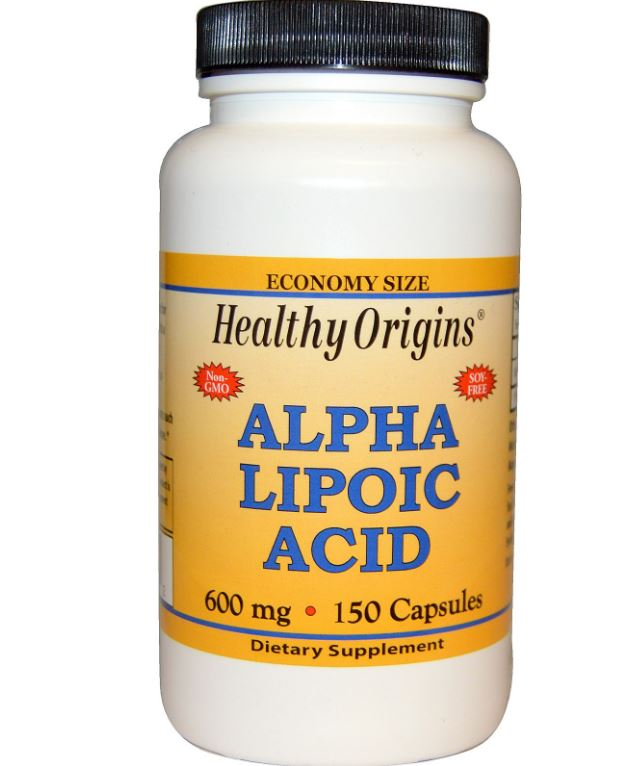 Alpha Lipoic Acid 600 mg (150 Capsules) Healthy Origins