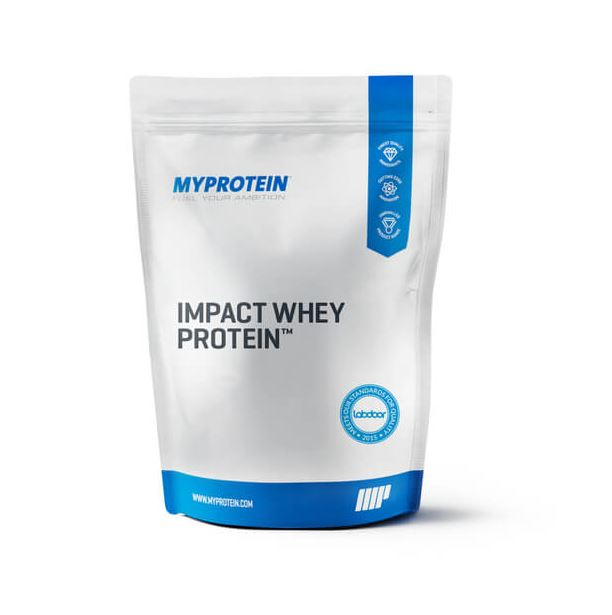 Impact Whey Protein, Natural Strawberry, 2.5kg MyProtein