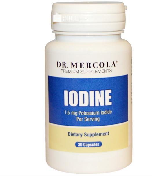 Iodine (30 Capsules) Dr. Mercola