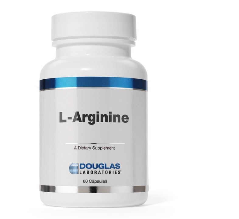 L Arginine 500 mg (60 capsules) Douglas Laboratories