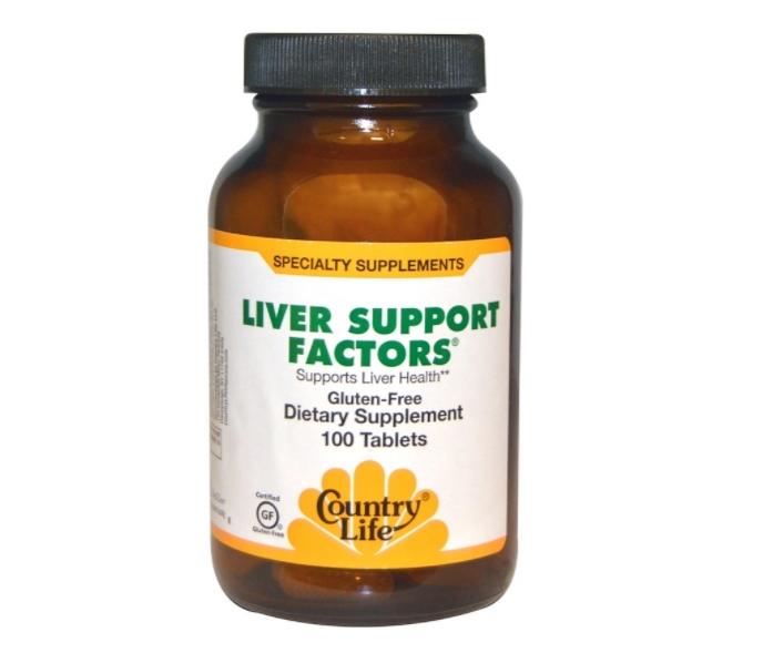 Liver Support Factors (100 Vegan Capsules) Country Life