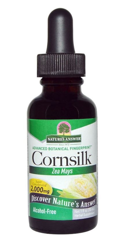 Cornsilk, Alcohol Free, 2,000 mg (30 ml) Nature apos s Answer