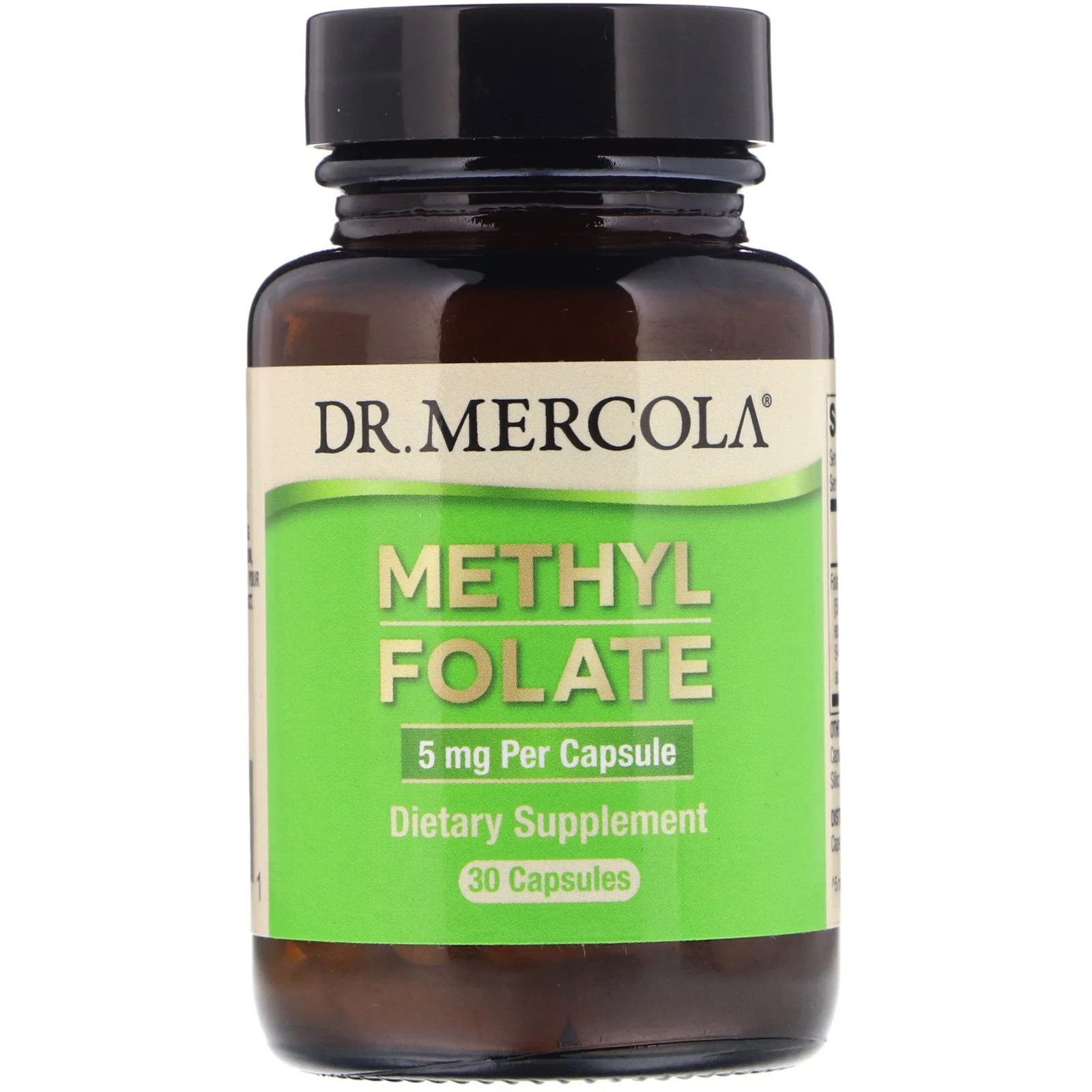 Folate 5 mg 30 Capsules Dr. Mercola