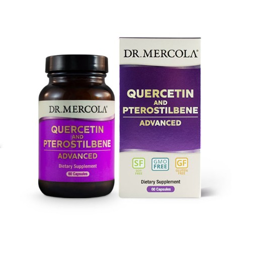 Quercetin and Pterostilbene Advanced (60 capsules) Dr. Mercola
