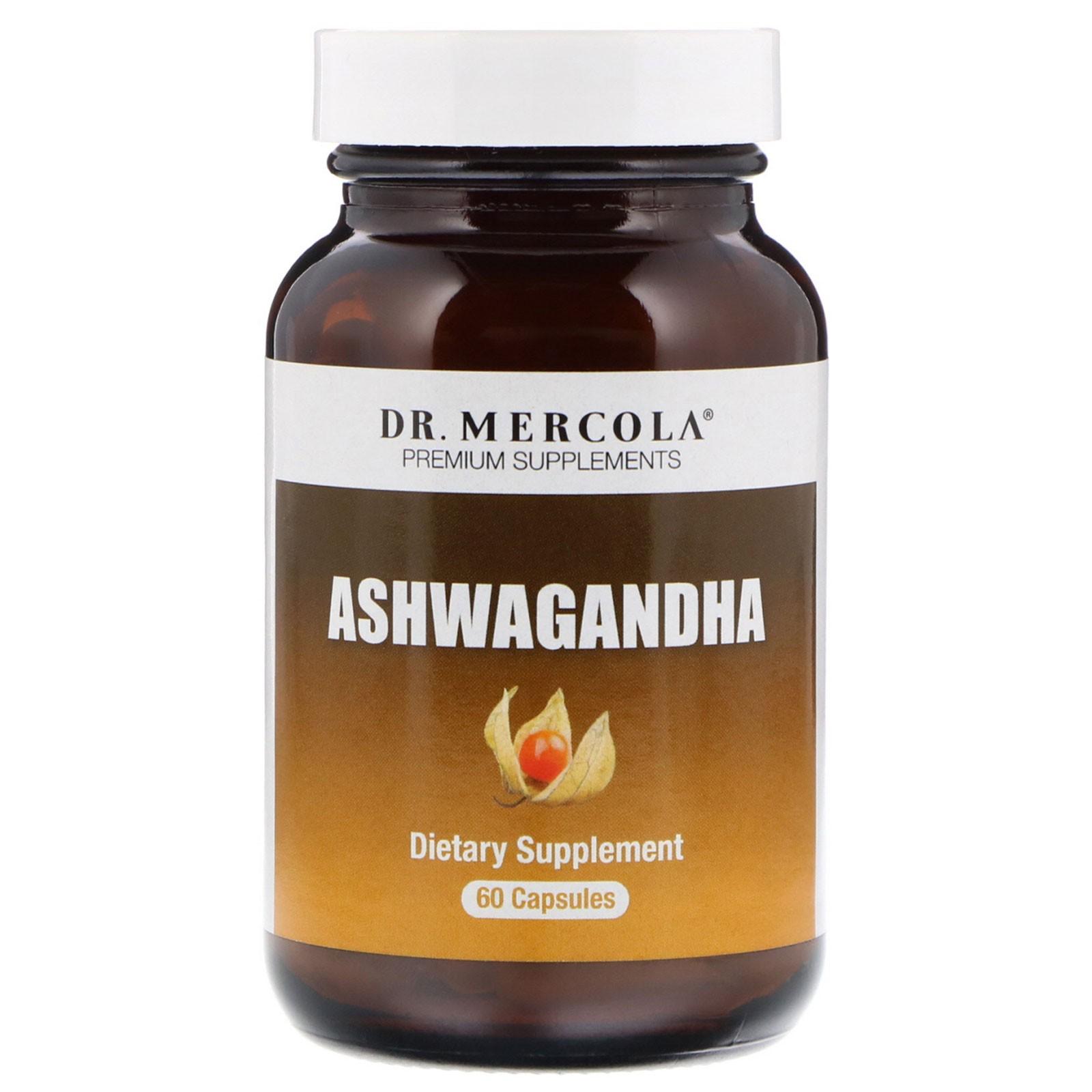 Ashwagandha 800 mg (60 capsules) Dr. Mercola