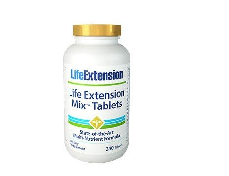 Mix Tablets (240 tablets) Life Extension