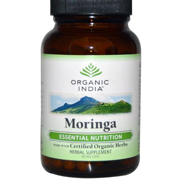 Moringa (90 Veggie Caps) Organic India