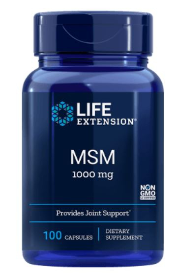 MSM 1000 mg (100 Capsules) Life Extension