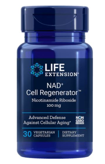 Nad Cell Regenerator Nicotinamide Riboside 100 Mg 30 vegetarische Capsules Life Extension