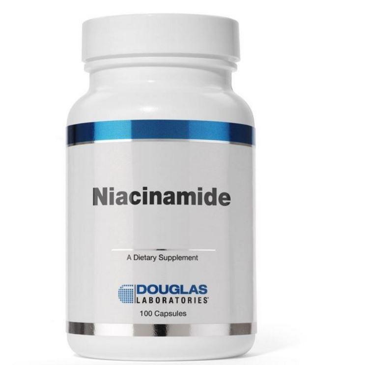 Niacinamide (100 Capsules) Douglas Laboratories