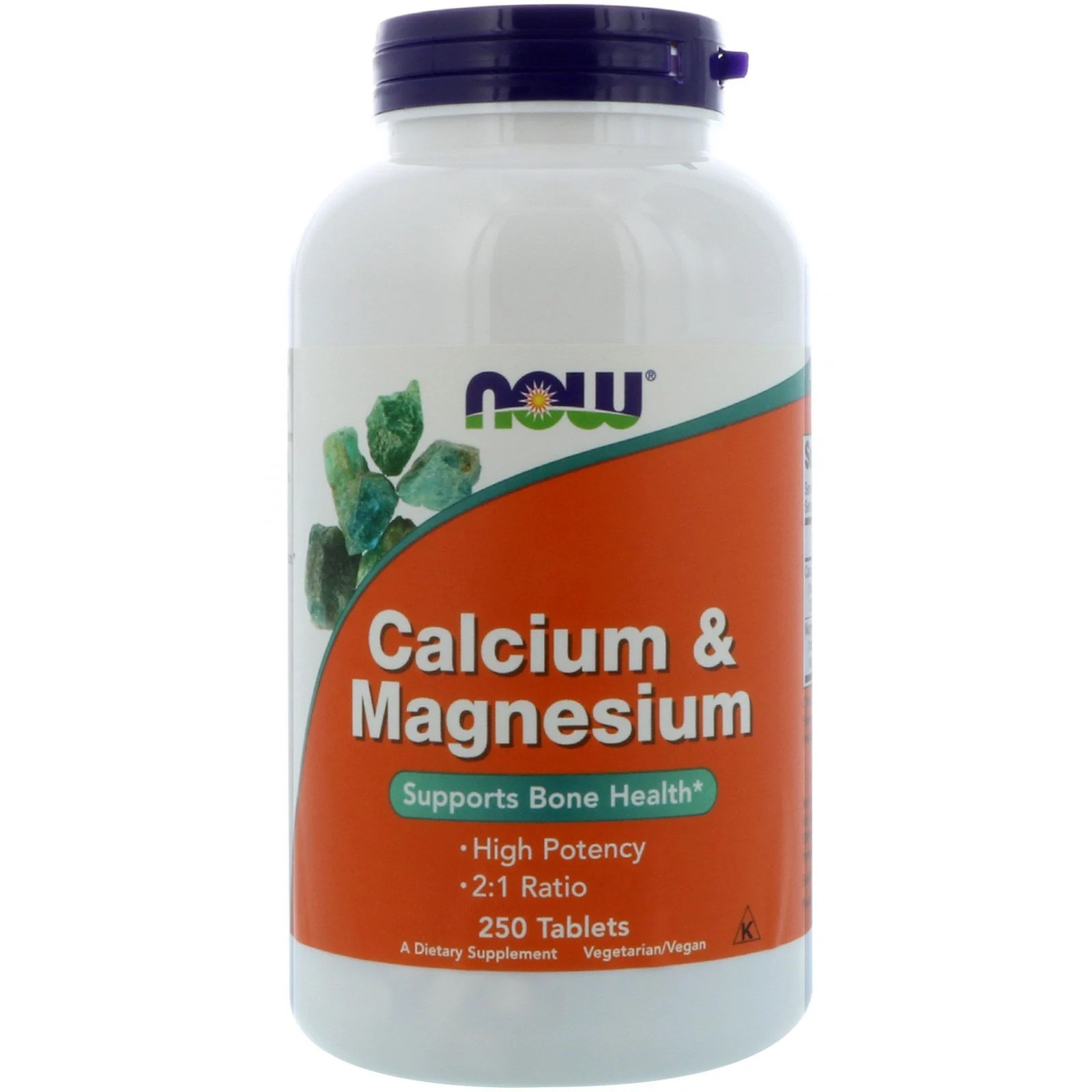 Calcium Magnesium (2 1) (250 tabletten) Now Foods