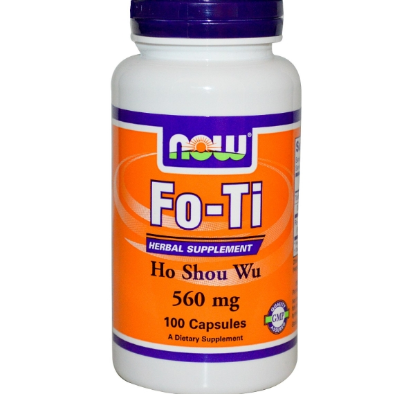 Fo Ti, Ho Shou Wu, 560 mg (100 Capsules) Now Foods