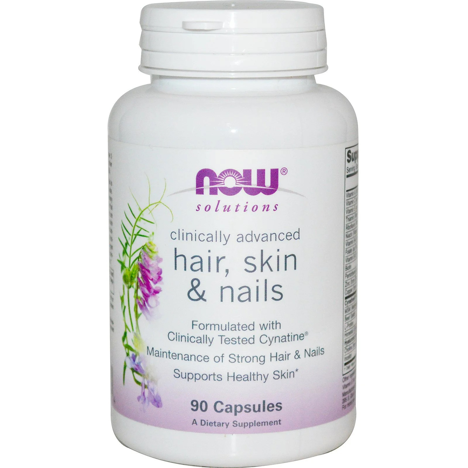 Hair, Skin Nails (90 capsules) Now Foods