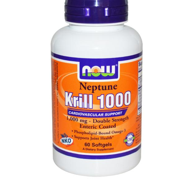 Now Foods Neptune Krill Olie 1000mg (60 Softgels) Now Foods