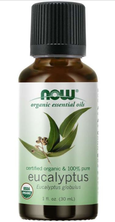 Organic Eucalyptus Globulus Oil (30 ml) Now Foods