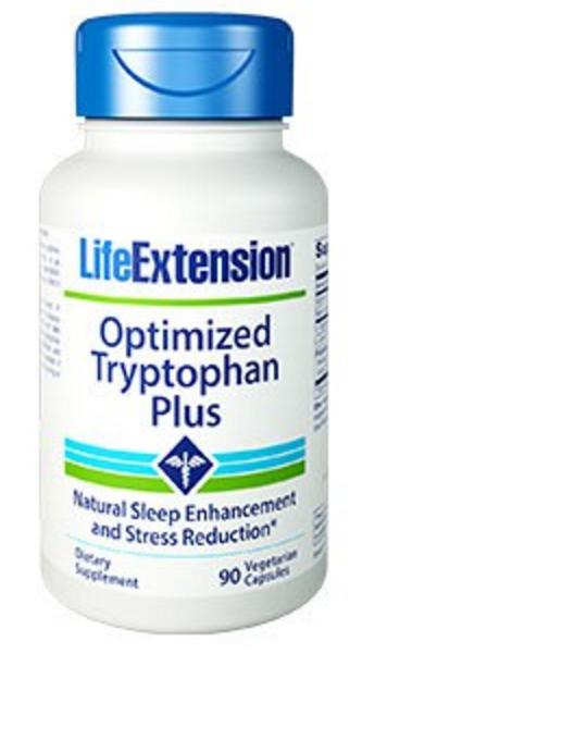 Geoptimaliseerde tryptofaan plus (90 vegetarische capsules) Life Extension Life Extension Premier