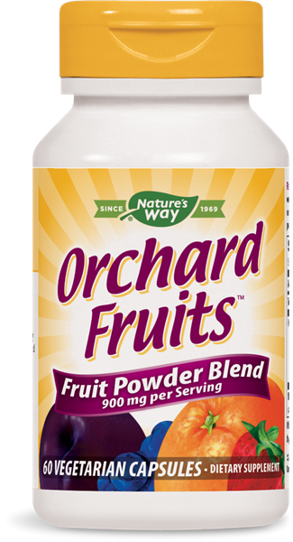 Orchard fruit, 12 vruchten (60 Vcaps) Nature apos s Way