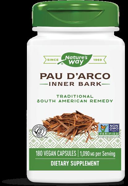 Pau d apos Arco binnenste schors 545 mg (180 Capsules) Nature apos s Way