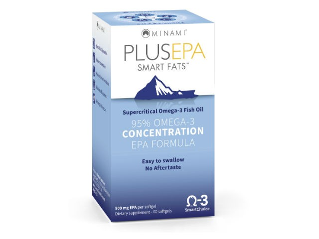 PlusEPA Smart Fats (60 Capsules) Minami