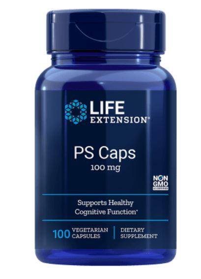 PS Caps van 100 mg (100 Veggie Caps) Life Extension