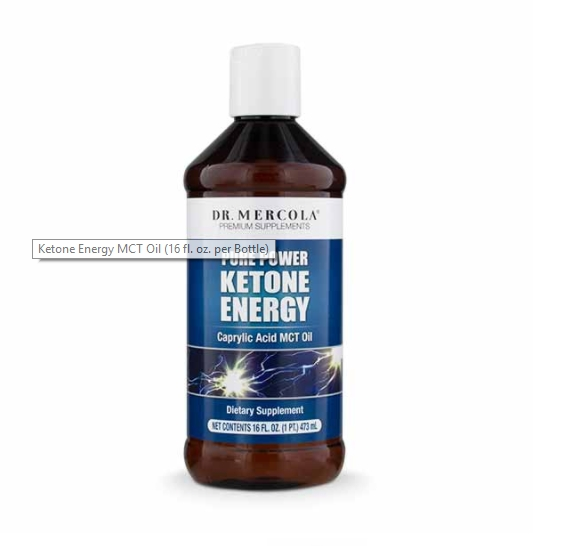 Ketone Energy MCT Oil (473 ml) Dr. Mercola