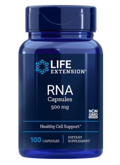 Rna (Ribonucleïnezuur) 500 Mg 100 Capsules Life Extension