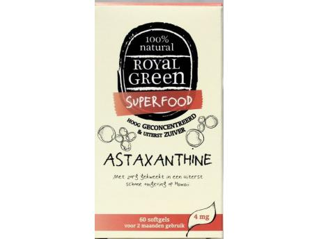 Astaxanthine (120 softgels) Royal Green
