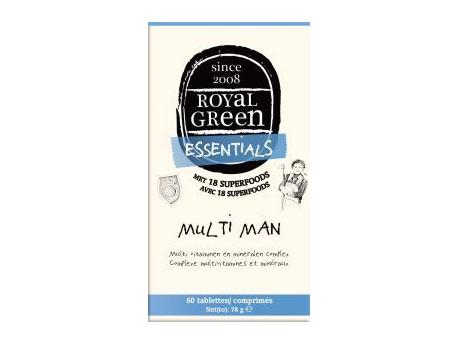 Multi Man 120 Tabs Royal Green