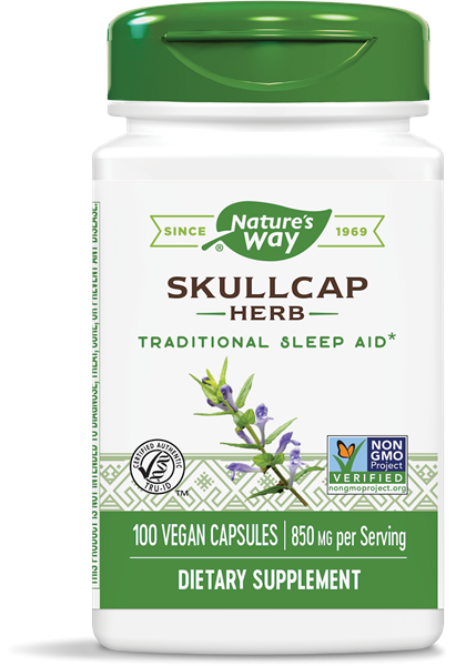 SCULLCAP kruid 425 mg (100 Capsules) Nature apos s Way