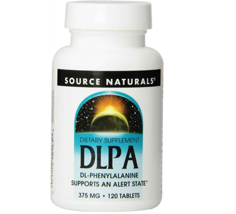 DLPA 375 mg (120 Tabletten) Source Naturals