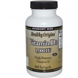 Healthy Origins, Vitamin D3, 1000 IU, 360 Softgels